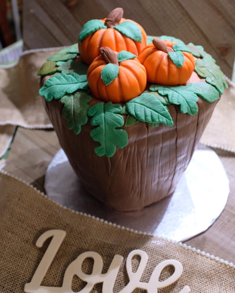 Gorgeous pumpkin cake