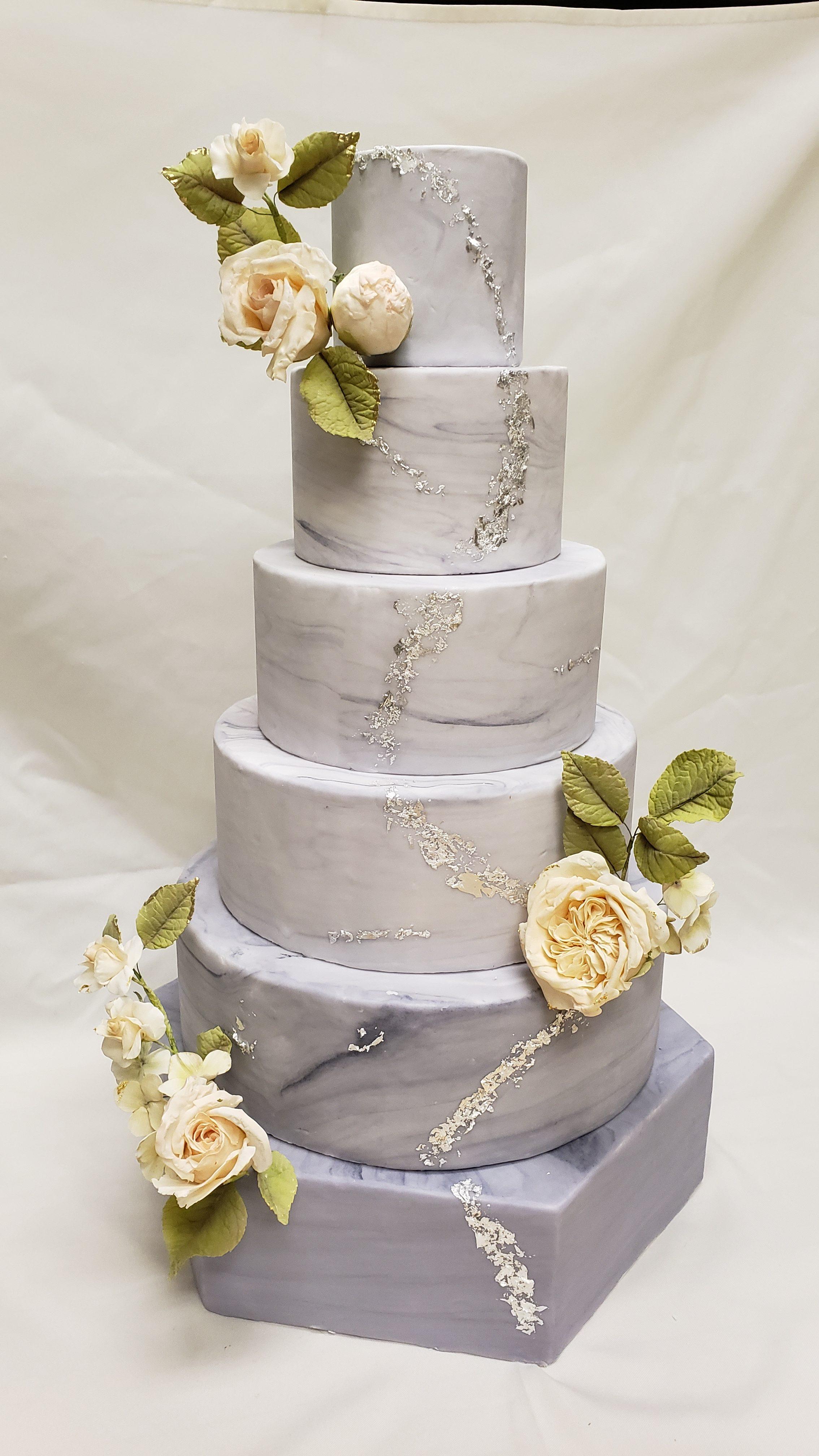 Stunning marble cake